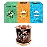 Aromafume 3 Dosha Räucherstäbchen (Starter-Set mit Baum des Lebens)