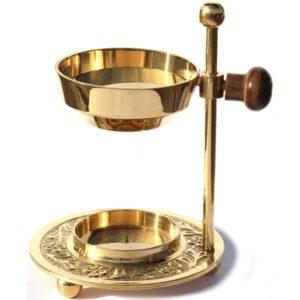 Weihrauchbrenner verstellbar - Gold