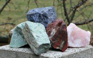 Leben mit Steinen